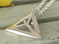 三角のオリジナルペンダント