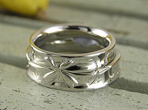 桜の花びらになる結婚指輪