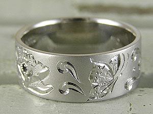 ゆらゆら蝶の指輪
