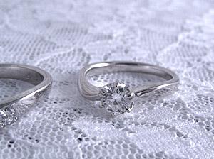 彼女だけの結婚指輪や婚約指輪