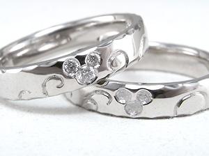 こだわりは3個のダイヤモンド