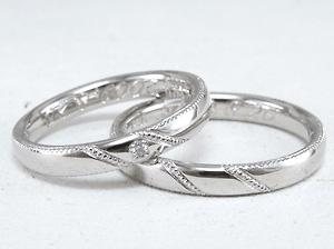 可愛い結婚指輪