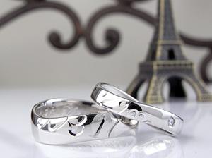 納得嬉しい指輪