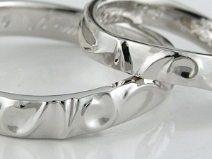 自然な指輪