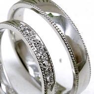 ダイヤモンドの形で彫り