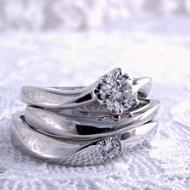 3本セットで作った指輪