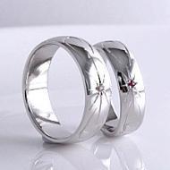 彫り模様・幅広い指輪